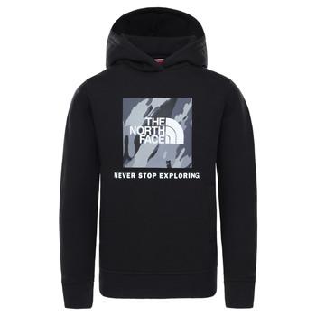 Abbigliamento Bambino Felpe The North Face NEW BOX CREW HODDIE Nero