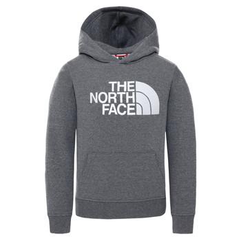 Abbigliamento Unisex bambino Felpe The North Face DREW PEAK HOODIE Grigio