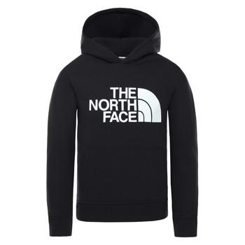 Abbigliamento Unisex bambino Felpe The North Face DREW PEAK HOODIE Nero