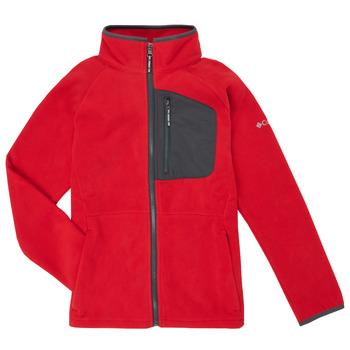 Abbigliamento Bambino Felpe in pile Columbia FAST TREK Rosso
