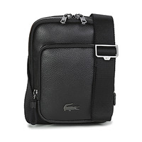 Borse Uomo Pochette / Borselli Lacoste SOFT MATE MEDIUM Nero