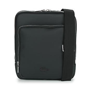 Borse Uomo Pochette / Borselli Lacoste MEN'S CLASSIC CROSSOVER BAG Nero