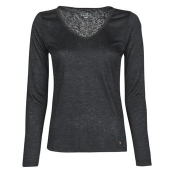 Abbigliamento Donna T-shirts a maniche lunghe Les Petites Bombes ADRIANA Nero