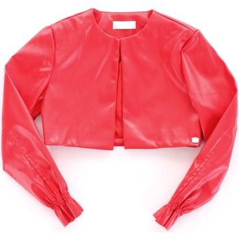 Abbigliamento Bambina Giacca in cuoio / simil cuoio Byblos Blu BJ14994 Rosso