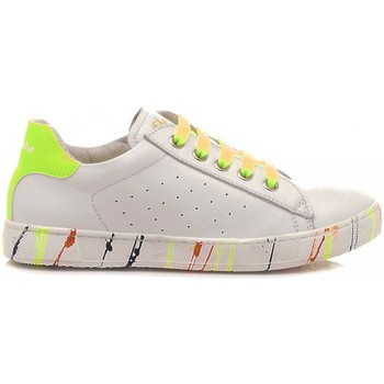 Scarpe Bambina Sneakers basse Naturino Scarpe Sneakers Basse Bambina Pelle Bianco-Multicolor bianco, giallo