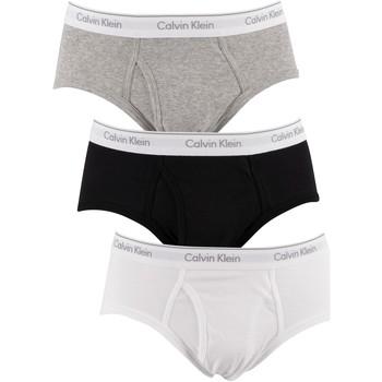 Biancheria Intima Uomo Slip Calvin Klein Jeans Slip da 3 confezioni multicolore