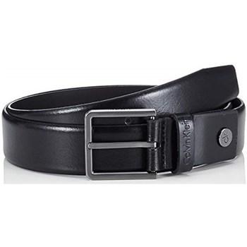 Accessori Uomo Cinture Calvin Klein Accessories k50k505290 Cinture Uomo Nero Nero