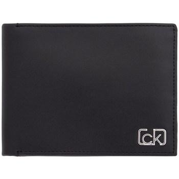 Borse Uomo Portafogli Calvin Klein Accessories k50k505311  Banconote Uomo Nero Nero