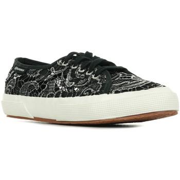 Scarpe Donna Sneakers basse Superga 2750 Macramemetw Nero