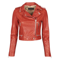 Abbigliamento Donna Giacca in cuoio / simil cuoio Oakwood KYOTO Rosso