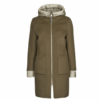 Abbigliamento Donna Cappotti Oakwood LILIANA BI Kaki / Beige / Taupe