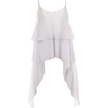 Abbigliamento Donna Top / Blusa J'aim 9869J TP bi-UNICA - Top  Bianco
