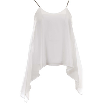 Abbigliamento Donna Top / Blusa J'aim 9891J TP BI-UNICA - Top  Bianco