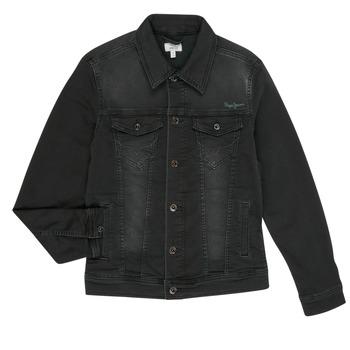 Abbigliamento Bambino Giacche in jeans Pepe jeans LEGENDARY Nero