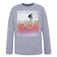 Abbigliamento Bambino T-shirts a maniche lunghe Pepe jeans EDGAR Grigio