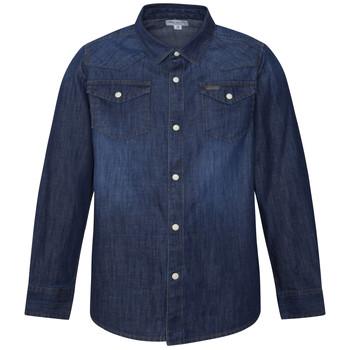 Abbigliamento Bambino Camicie maniche lunghe Pepe jeans JHON Blu