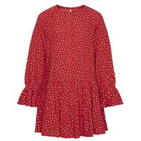 Abbigliamento Bambina Abiti corti Pepe jeans CATY Rosso