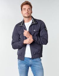 Abbigliamento Uomo Giubbotti Calvin Klein Jeans ZIP UP HARRINGTON Marine