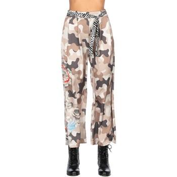 Abbigliamento Donna Pantaloni morbidi / Pantaloni alla zuava Relish SEDRE Camouflage