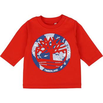 Abbigliamento Bambino T-shirts a maniche lunghe Timberland T95889 Rosso
