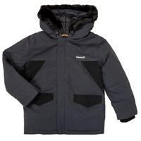 Abbigliamento Bambino Parka Timberland T26525 Grigio