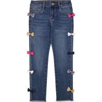 Abbigliamento Bambina Jeans slim Billieblush / Billybandit U14406 Blu