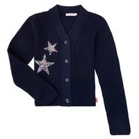 Abbigliamento Bambina Gilet / Cardigan Billieblush / Billybandit U15758 Blu