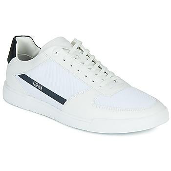 Scarpe Uomo Sneakers basse BOSS COSMOPOOL TENN MXME Bianco