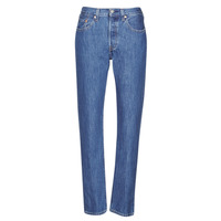 Abbigliamento Donna Jeans boyfriend Levi's 501 CROP Blu