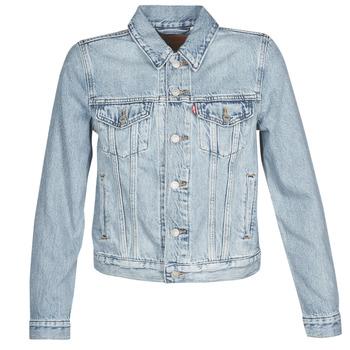 Abbigliamento Donna Giacche in jeans Levi's ORIGINAL TRUCKER All / Mine
