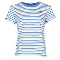 Abbigliamento Donna T-shirt maniche corte Levi's PERFECT TEE Blu