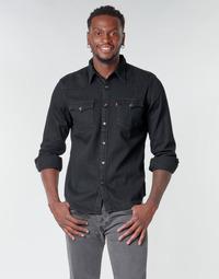 Abbigliamento Uomo Camicie maniche lunghe Levi's BARSTOW WESTERN STANDARD Nero