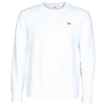 Abbigliamento Uomo Felpe Levi's NEW ORIGINAL CREW White