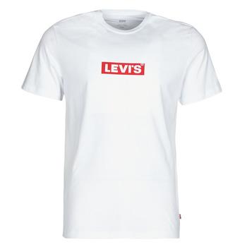 Abbigliamento Uomo T-shirt maniche corte Levi's BOXTAB GRAPHIC TEE Bianco