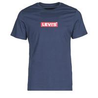 Abbigliamento Uomo T-shirt maniche corte Levi's BOXTAB GRAPHIC TEE Blu