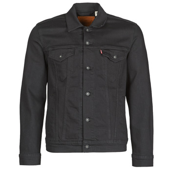 Abbigliamento Uomo Giacche in jeans Levi's THE TRUCKER JACKET Nero