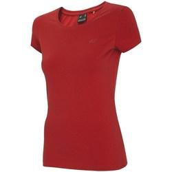 Abbigliamento Donna T-shirt maniche corte 4F TSD001 Rosso