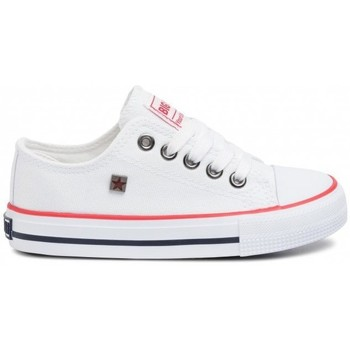 Scarpe Unisex bambino Sneakers basse Big Star FF374200 Bianco