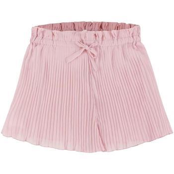 Abbigliamento Bambina Shorts / Bermuda Mayoral Kids Falda pantalon plisada rosa