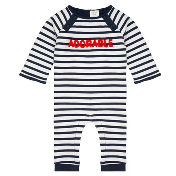 Abbigliamento Bambino Tuta jumpsuit / Salopette Carrément Beau Y94188 Multicolore