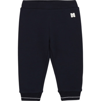 Abbigliamento Bambina Pantaloni 5 tasche Carrément Beau Y94200 Blu