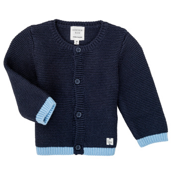 Abbigliamento Bambina Gilet / Cardigan Carrément Beau Y95230 Blu
