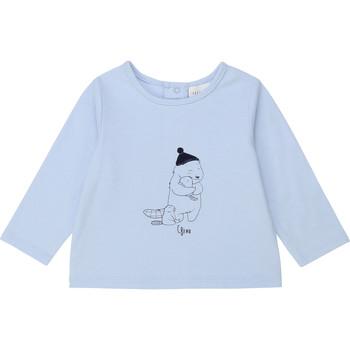 Abbigliamento Bambino T-shirts a maniche lunghe Carrément Beau Y95249 Blu