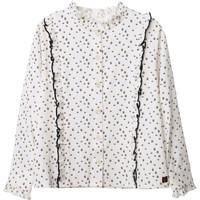 Abbigliamento Bambina Top / Blusa Carrément Beau Y15356 Bianco