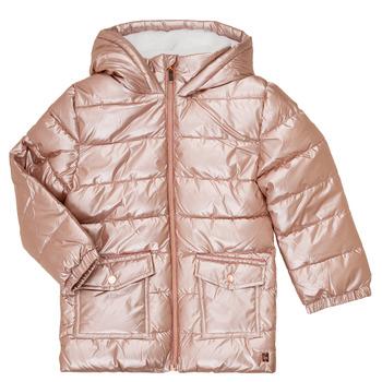 Abbigliamento Bambina Piumini Carrément Beau Y16085 Rosa