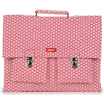 Borse Bambina Cartelle Bakker Made With Love CARTABLE BIG CANVAS Rosa