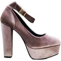 Scarpe Donna Décolleté Malu Shoes Scarpe donna art 6068 tacco 13 doppio ciniglia cipria moda glam CIPRIA