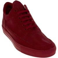 Scarpe Uomo Sneakers basse Made In Italia Sneakers bassa uomo scarpe calzature  modello phil dettaglio pi ROSSO