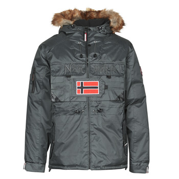 Abbigliamento Uomo Parka Geographical Norway BENCH Grigio / Scuro