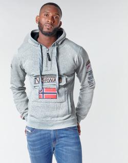 Abbigliamento Uomo Felpe Geographical Norway GYMCLASS Grigio / Melange